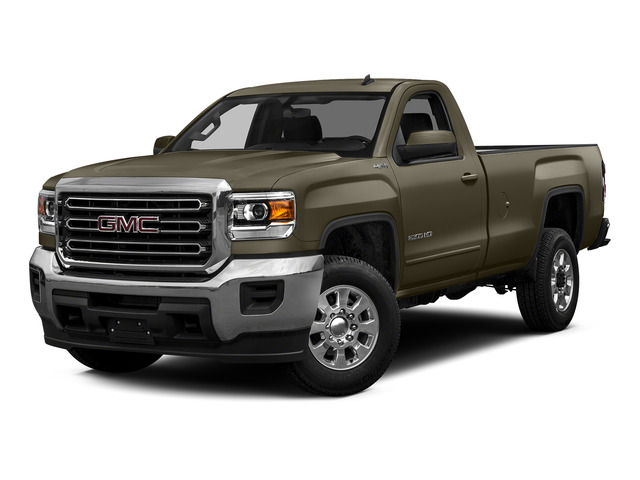 Bronze Alloy Metallic 2015 GMC Sierra 2500HD Pictures Sierra 2500HD Regular Cab SLE 4WD photos front view