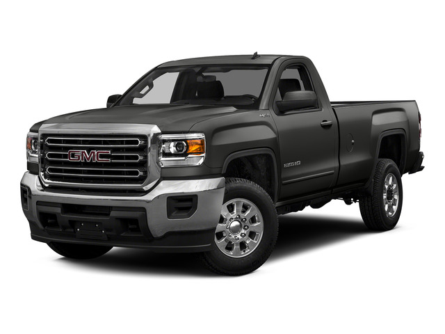Iridium Metallic 2015 GMC Sierra 2500HD Pictures Sierra 2500HD Regular Cab SLE 4WD photos front view