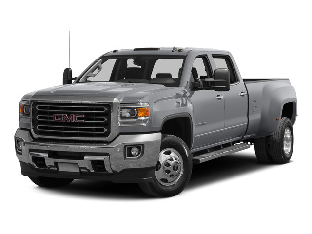 Quicksilver Metallic 2015 GMC Sierra 3500HD Pictures Sierra 3500HD Crew Cab Denali 2WD photos front view