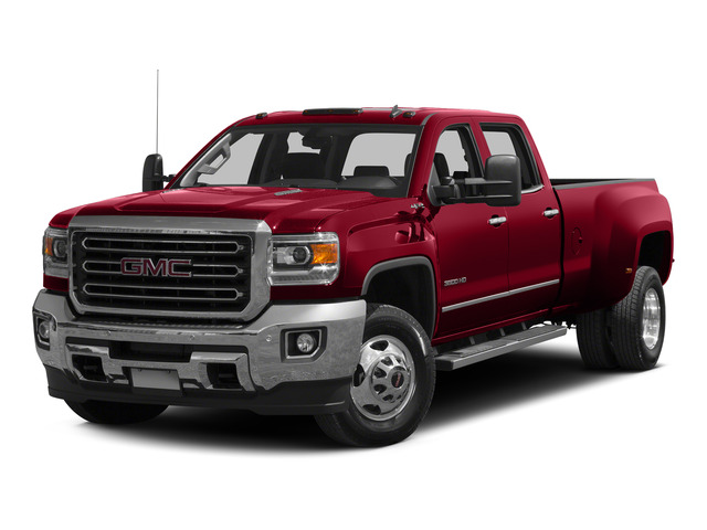Fire Red 2015 GMC Sierra 3500HD Pictures Sierra 3500HD Crew Cab Work Truck 2WD photos front view