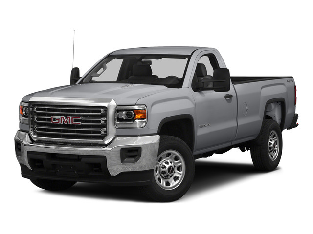 Quicksilver Metallic 2015 GMC Sierra 3500HD Pictures Sierra 3500HD Regular Cab Work Truck 4WD photos front view