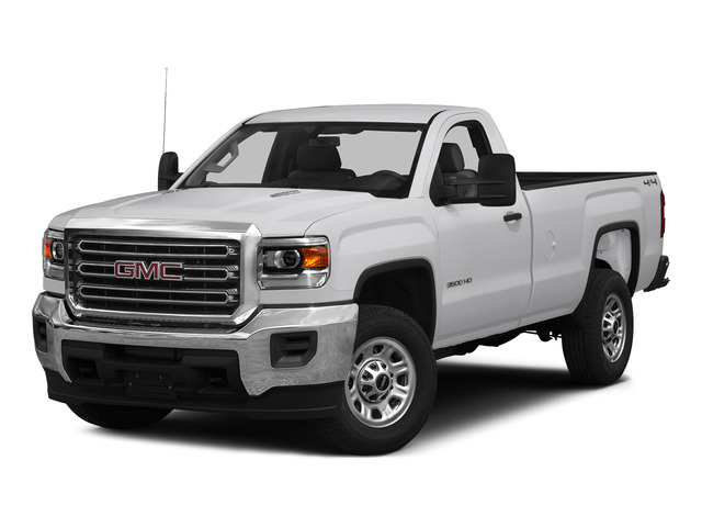 Summit White 2015 GMC Sierra 3500HD Pictures Sierra 3500HD Regular Cab Work Truck 4WD photos front view