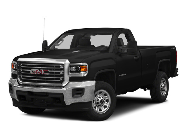Onyx Black 2015 GMC Sierra 3500HD Pictures Sierra 3500HD Regular Cab Work Truck 4WD photos front view