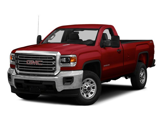 Fire Red 2015 GMC Sierra 3500HD Pictures Sierra 3500HD Regular Cab Work Truck 4WD photos front view