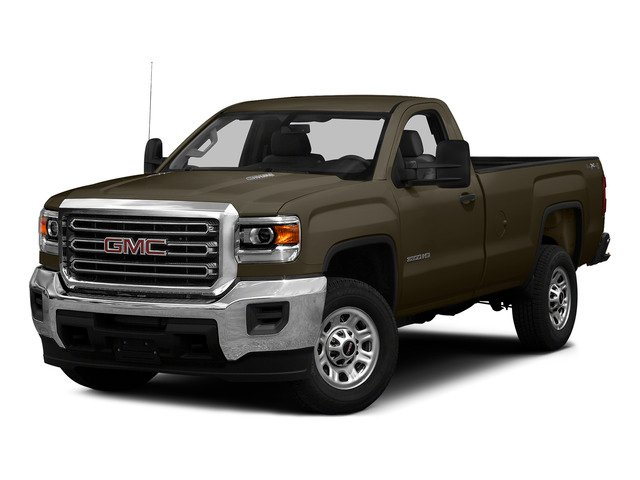 Bronze Alloy Metallic 2015 GMC Sierra 3500HD Pictures Sierra 3500HD Regular Cab Work Truck 4WD photos front view