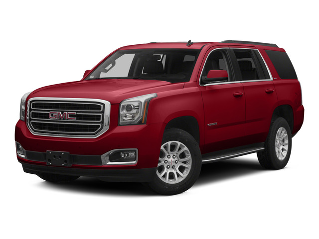 Crystal Red Tintcoat 2015 GMC Yukon Pictures Yukon Utility 4D SLE 2WD photos front view