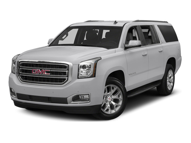 Summit White 2015 GMC Yukon XL Pictures Yukon XL Utility 4D Denali 4WD photos front view