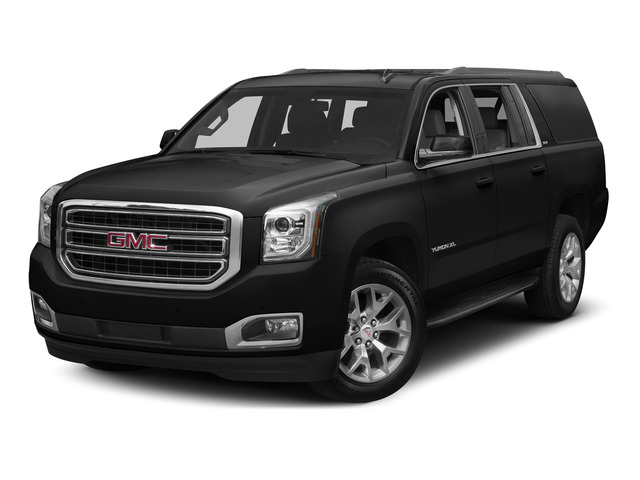 Onyx Black 2015 GMC Yukon XL Pictures Yukon XL Utility 4D Denali 4WD photos front view