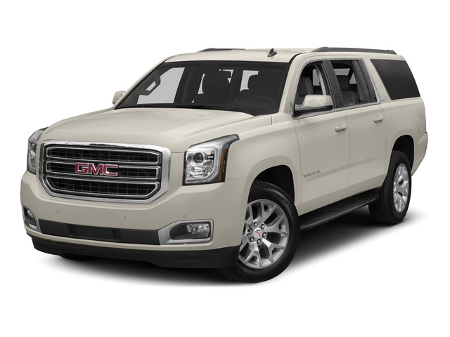 White Diamond Tricoat 2015 GMC Yukon XL Pictures Yukon XL Utility 4D Denali 4WD photos front view