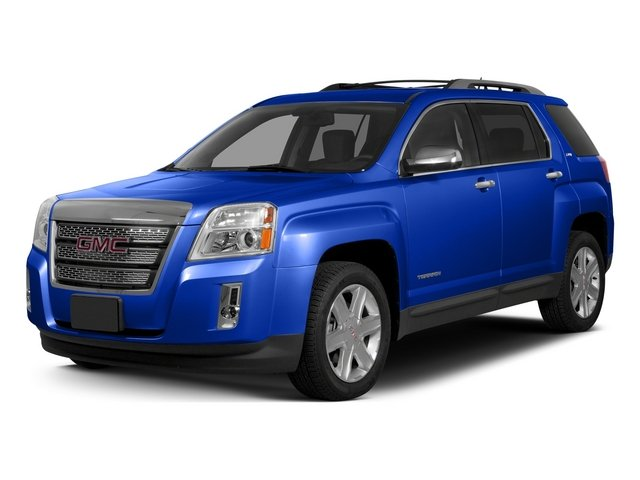 Dark Sapphire Blue Metallic 2015 GMC Terrain Pictures Terrain Utility 4D SLT AWD photos front view