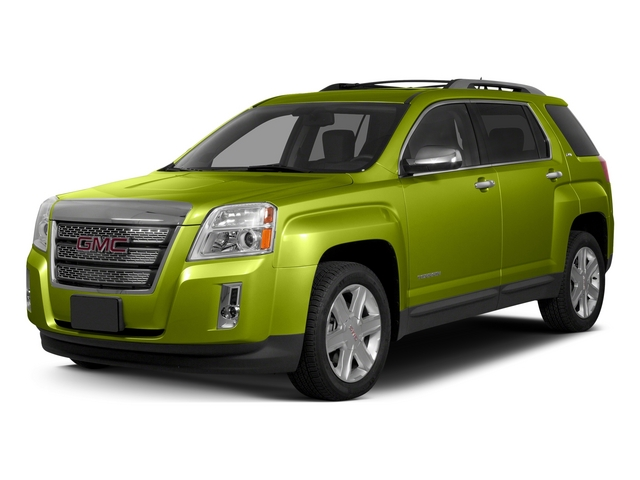 Cypress Green Metallic 2015 GMC Terrain Pictures Terrain Utility 4D SLT AWD photos front view