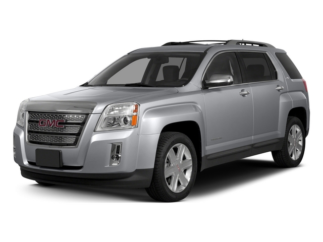 Quicksilver Metallic 2015 GMC Terrain Pictures Terrain Utility 4D SLT AWD photos front view