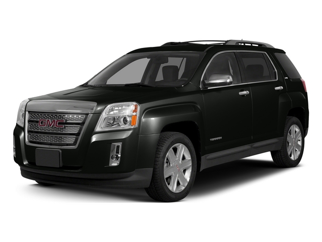 Carbon Black Metallic 2015 GMC Terrain Pictures Terrain Utility 4D SLT AWD photos front view