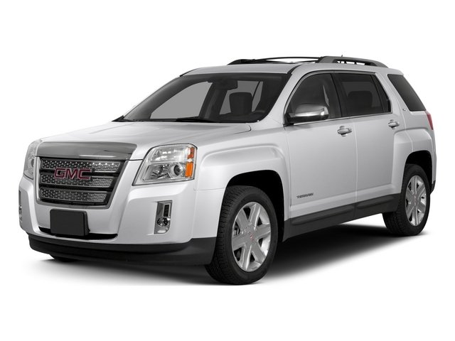 Summit White 2015 GMC Terrain Pictures Terrain Utility 4D SLT AWD photos front view
