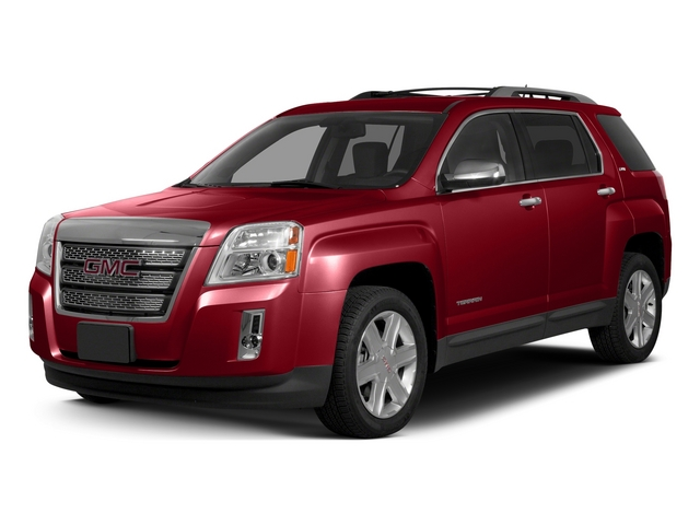 Crystal Red Tintcoat 2015 GMC Terrain Pictures Terrain Utility 4D SLT AWD photos front view