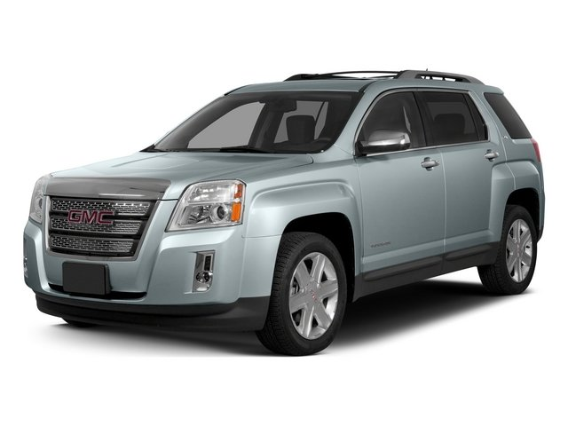 Silver Sky Metallic 2015 GMC Terrain Pictures Terrain Utility 4D SLE 2WD photos front view