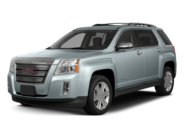 Silver Sky Metallic 2015 GMC Terrain Pictures Terrain Utility 4D SLE2 AWD photos front view