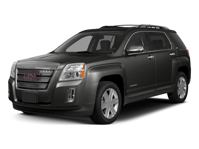 Iridium Metallic 2015 GMC Terrain Pictures Terrain Utility 4D SLT AWD photos front view