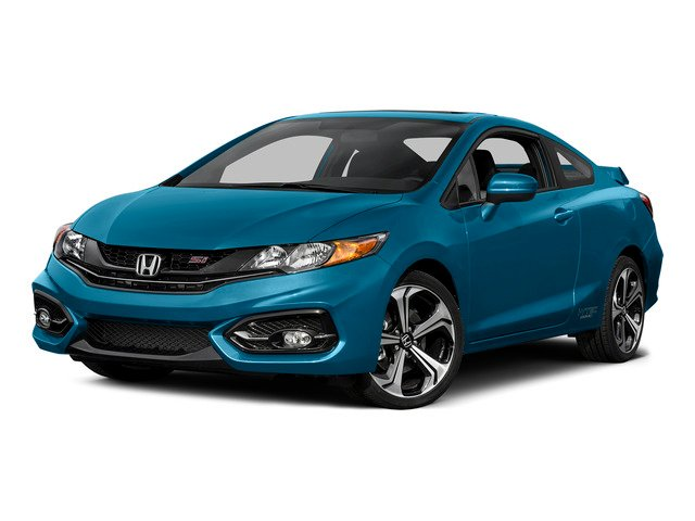 Dyno Blue Pearl 2015 Honda Civic Coupe Pictures Civic Coupe 2D Si I4 photos front view