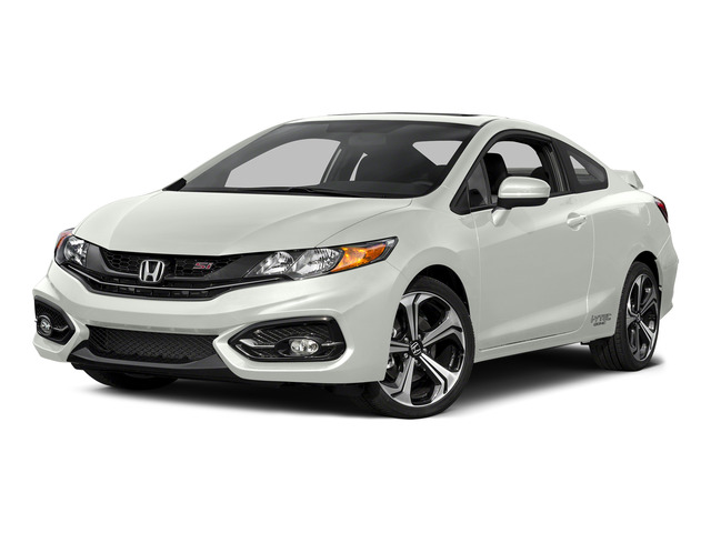 Taffeta White 2015 Honda Civic Coupe Pictures Civic Coupe 2D Si I4 photos front view