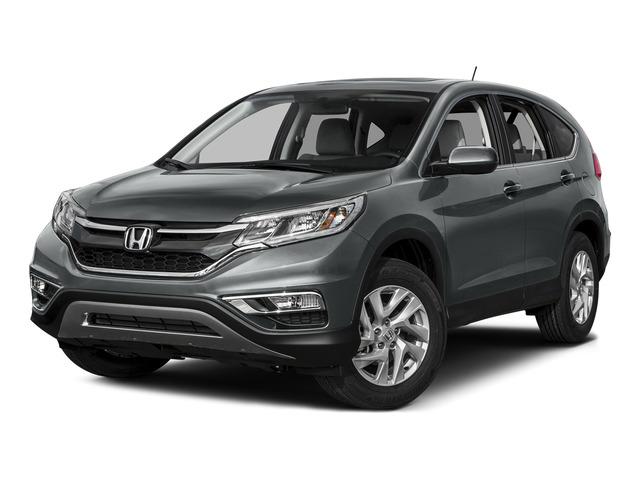 Modern Steel Metallic 2015 Honda CR-V Pictures CR-V Utility 4D EX AWD I4 photos front view