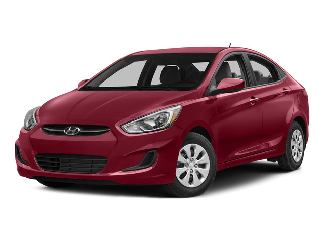 Boston Red Metallic 2015 Hyundai Accent Pictures Accent Sedan 4D GLS I4 photos front view