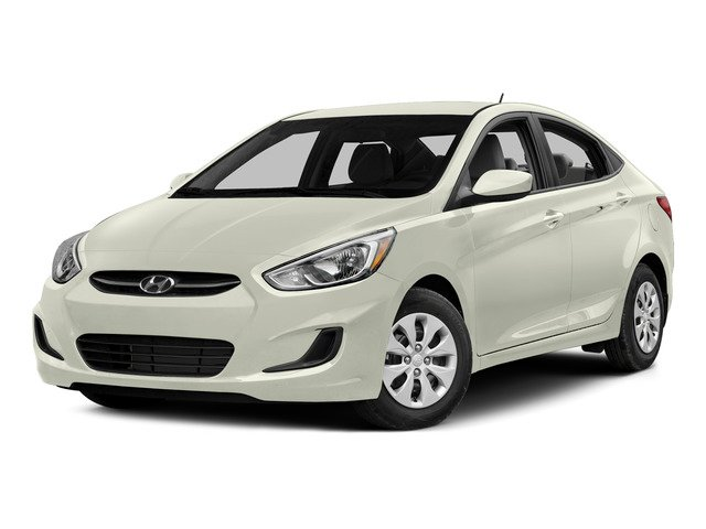 Century White 2015 Hyundai Accent Pictures Accent Sedan 4D GLS I4 photos front view