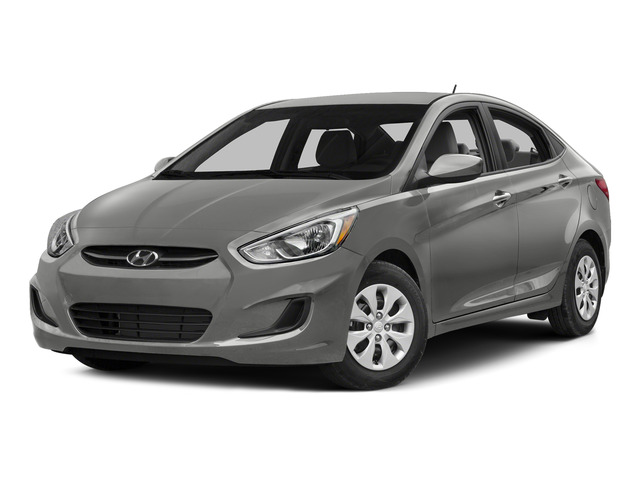 Ironman Silver Metallic 2015 Hyundai Accent Pictures Accent Sedan 4D GLS I4 photos front view