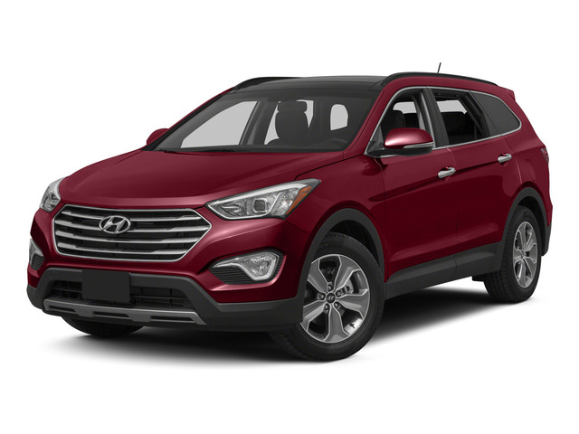 Regal Red Pearl 2015 Hyundai Santa Fe Pictures Santa Fe Utility 4D Limited AWD photos front view