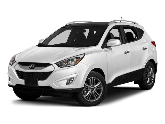 Winter White Solid 2015 Hyundai Tucson Pictures Tucson Utility 4D Limited AWD I4 photos front view