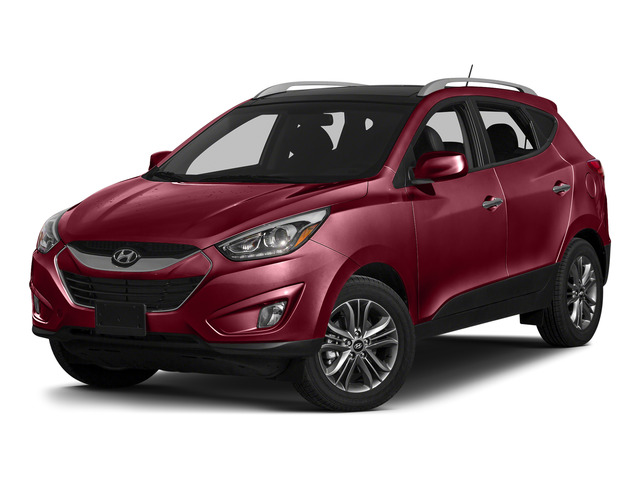 Garnet Red Mica 2015 Hyundai Tucson Pictures Tucson Utility 4D Limited AWD I4 photos front view
