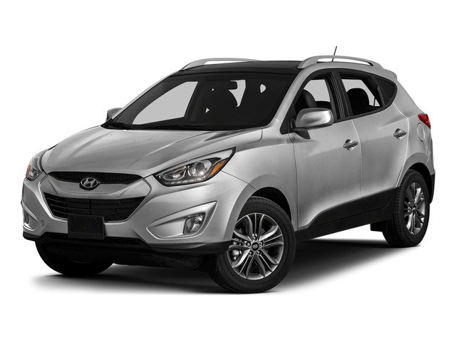 Diamond Silver Metallic 2015 Hyundai Tucson Pictures Tucson Utility 4D Limited AWD I4 photos front view