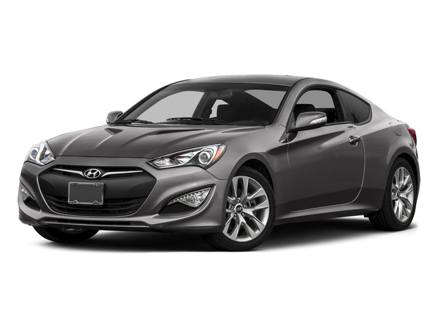 Empire State Gray 2015 Hyundai Genesis Coupe Pictures Genesis Coupe 2D V6 photos front view