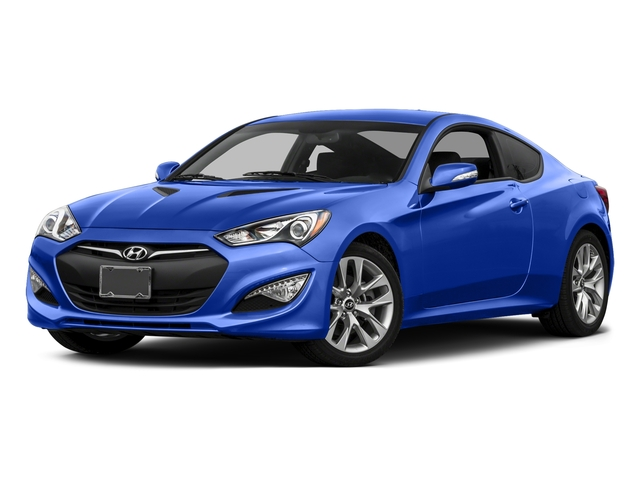 Ibiza Blue 2015 Hyundai Genesis Coupe Pictures Genesis Coupe 2D V6 photos front view