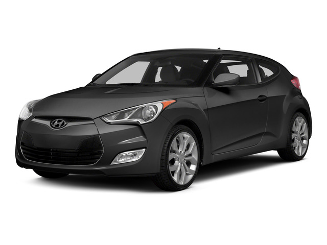 Triathlon Gray Metallic 2015 Hyundai Veloster Pictures Veloster Coupe 3D I4 photos front view