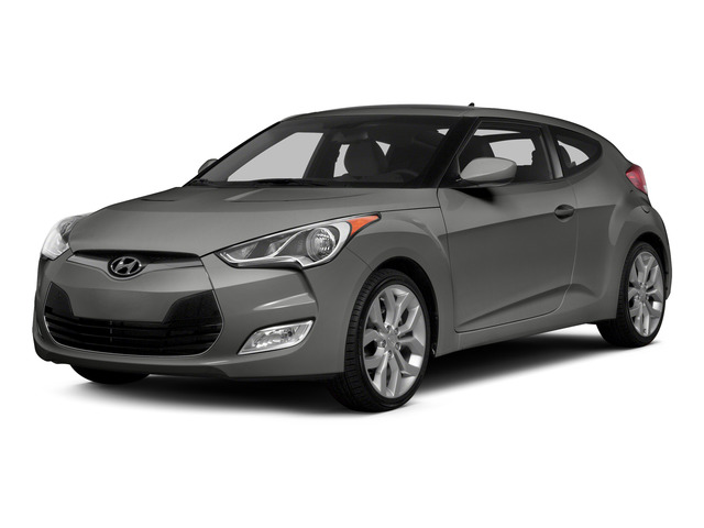 Ironman Silver Metallic 2015 Hyundai Veloster Pictures Veloster Coupe 3D I4 photos front view