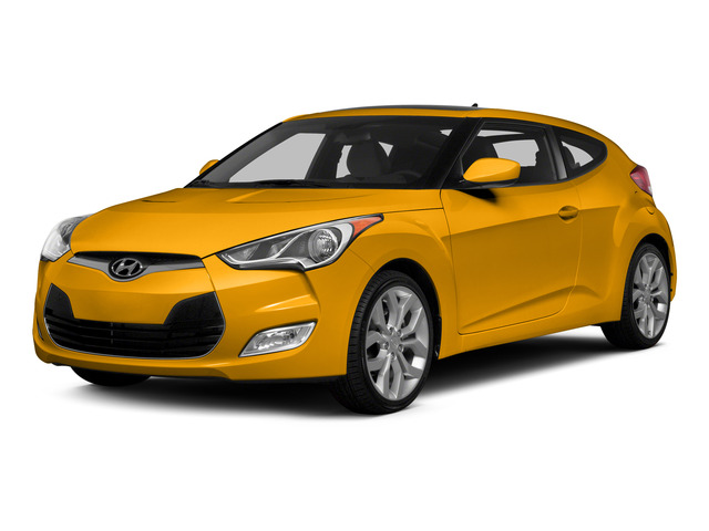 26.2 Yellow 2015 Hyundai Veloster Pictures Veloster Coupe 3D I4 photos front view