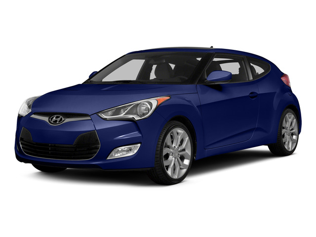 Marathon Blue Pearl 2015 Hyundai Veloster Pictures Veloster Coupe 3D I4 photos front view