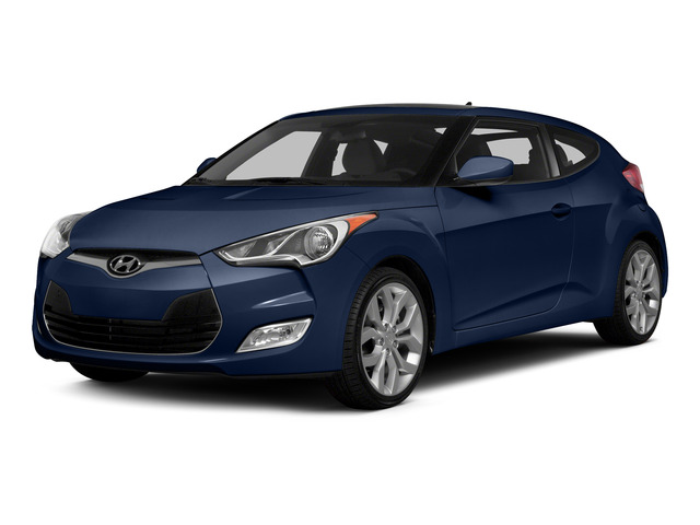 Pacific Blue Pearl 2015 Hyundai Veloster Pictures Veloster Coupe 3D I4 photos front view