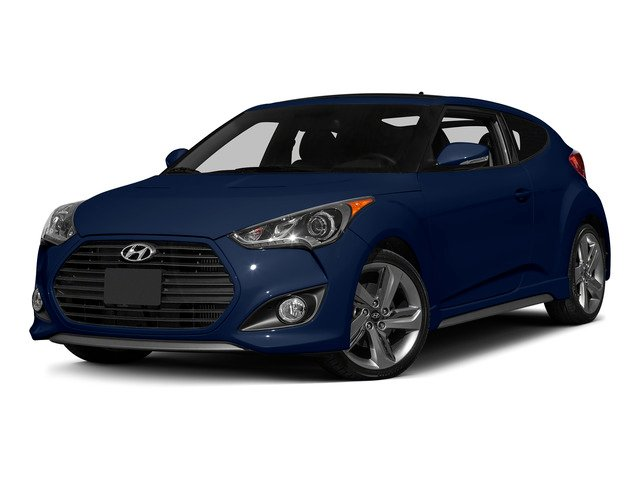 Pacific Blue Pearl 2015 Hyundai Veloster Pictures Veloster Coupe 3D I4 Turbo photos front view
