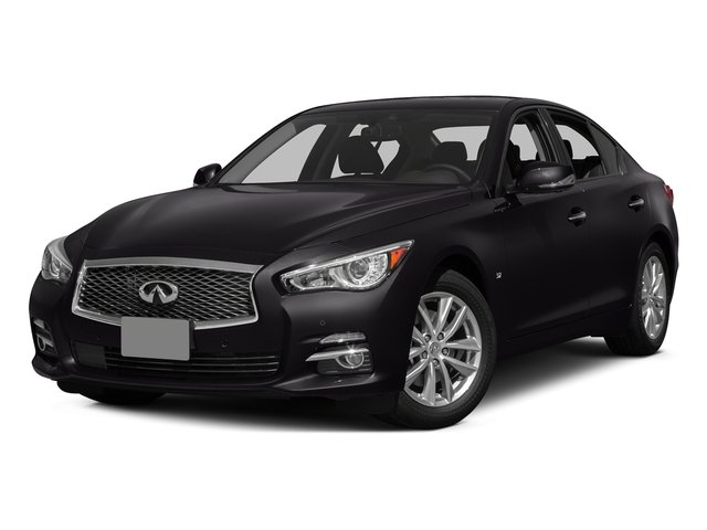 Malbec Black 2015 INFINITI Q50 Pictures Q50 Sedan 4D Sport AWD V6 photos front view
