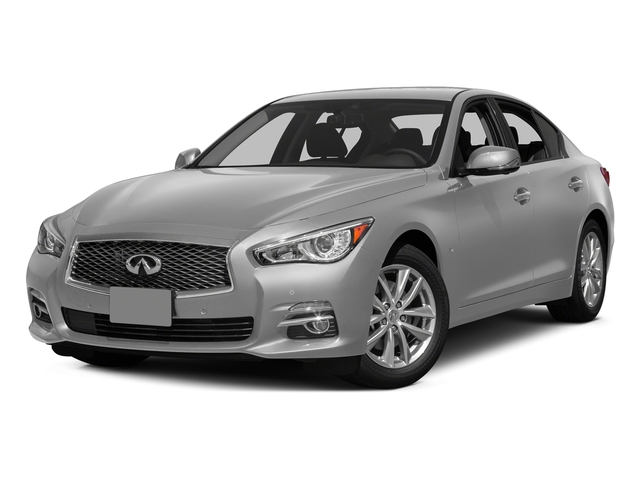 Liquid Platinum 2015 INFINITI Q50 Pictures Q50 Sedan 4D Sport AWD V6 photos front view