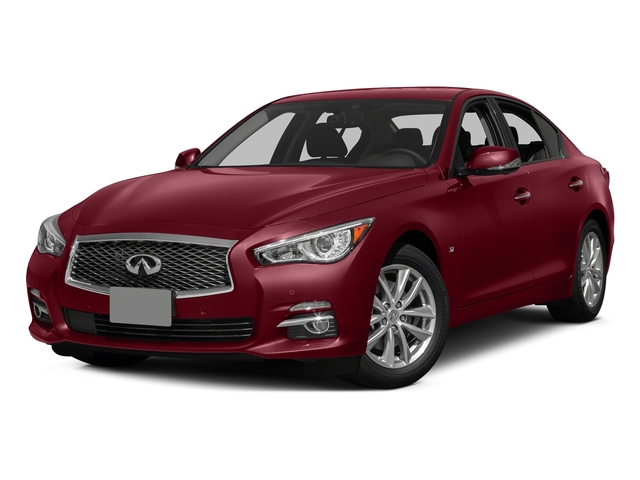 Venetian Ruby 2015 INFINITI Q50 Pictures Q50 Sedan 4D Sport AWD V6 photos front view