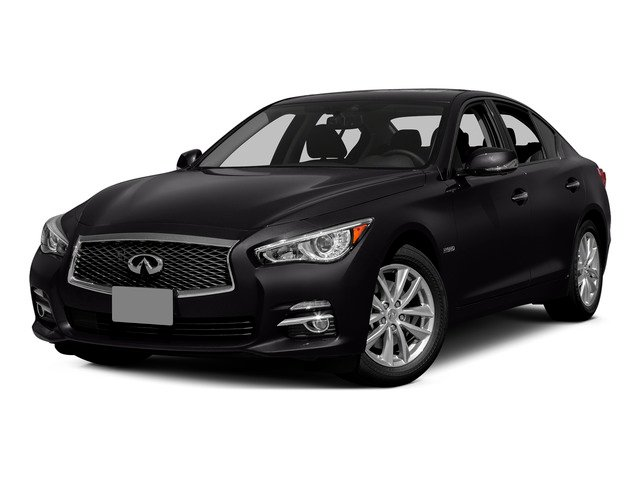 Malbec Black 2015 INFINITI Q50 Pictures Q50 Sedan 4D Sport V6 Hybrid photos front view