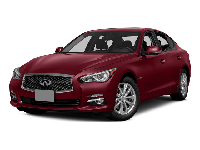 Venetian Ruby 2015 INFINITI Q50 Pictures Q50 Sedan 4D Sport V6 Hybrid photos front view