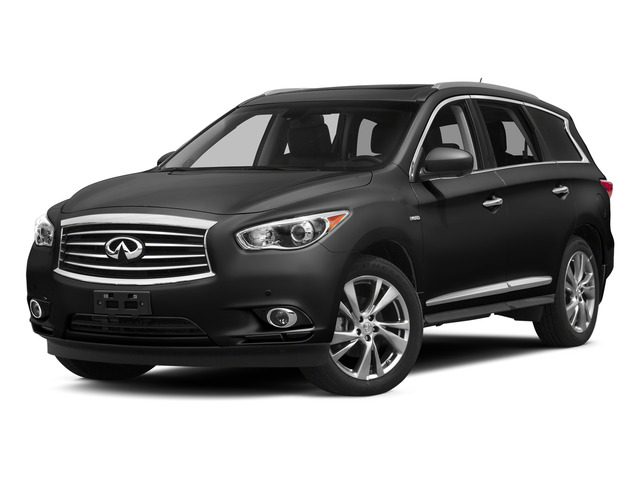 Black Obsidian 2015 INFINITI QX60 Pictures QX60 Utility 4D Hybrid AWD I4 photos front view