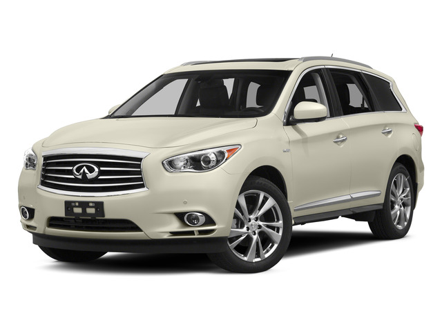 Majestic White 2015 INFINITI QX60 Pictures QX60 Utility 4D Hybrid AWD I4 photos front view