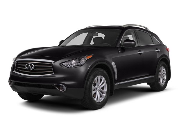 Malbec Black 2015 INFINITI QX70 Pictures QX70 Utility 4D AWD V6 photos front view