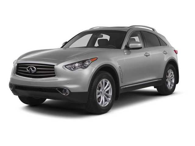 Liquid Platinum 2015 INFINITI QX70 Pictures QX70 Utility 4D 2WD V6 photos front view