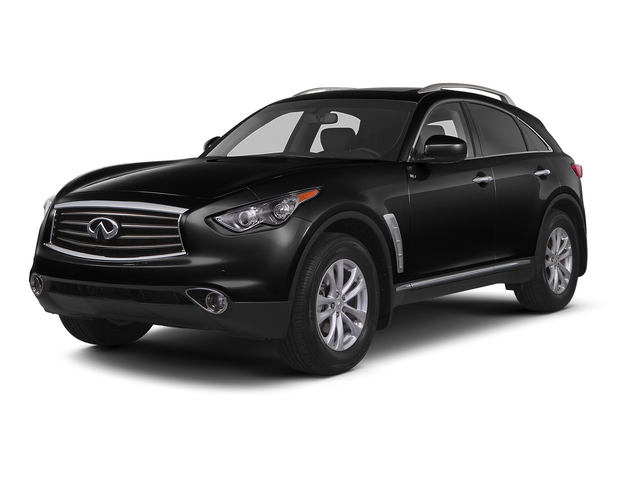 Black Obsidian 2015 INFINITI QX70 Pictures QX70 Utility 4D AWD V6 photos front view